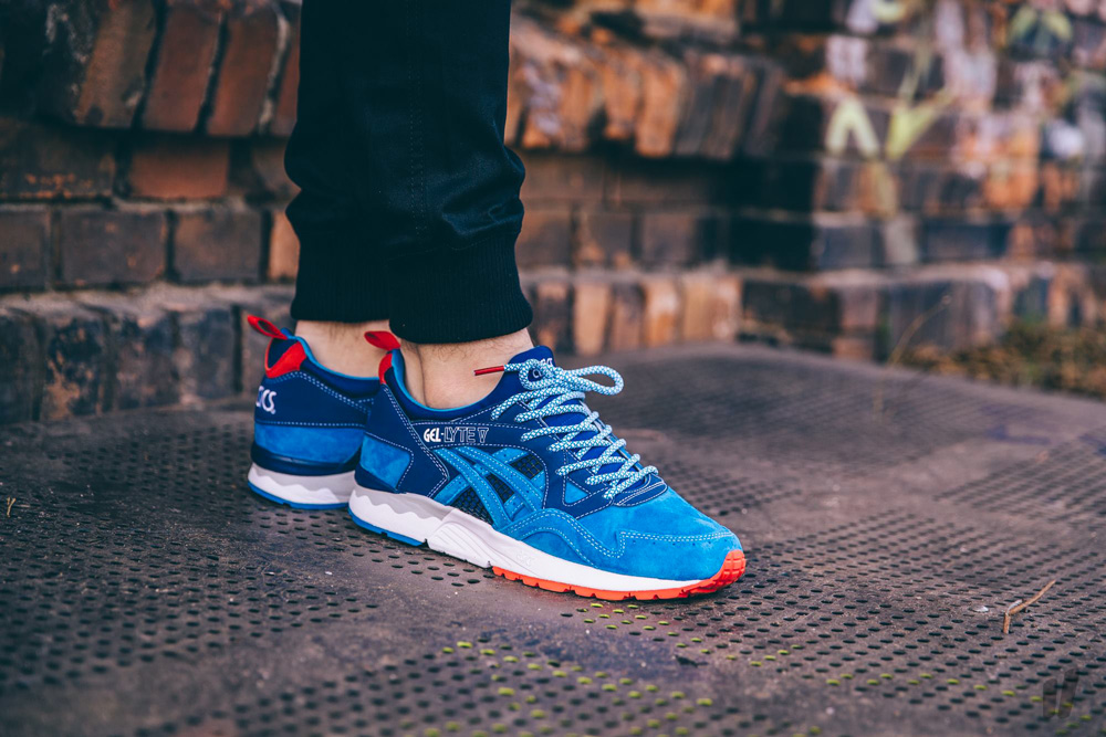 Asics Gel Lyte 5 Bleu Orange