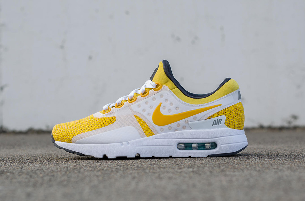 nike air max zero yellow white date de sortie release date. Black Bedroom Furniture Sets. Home Design Ideas