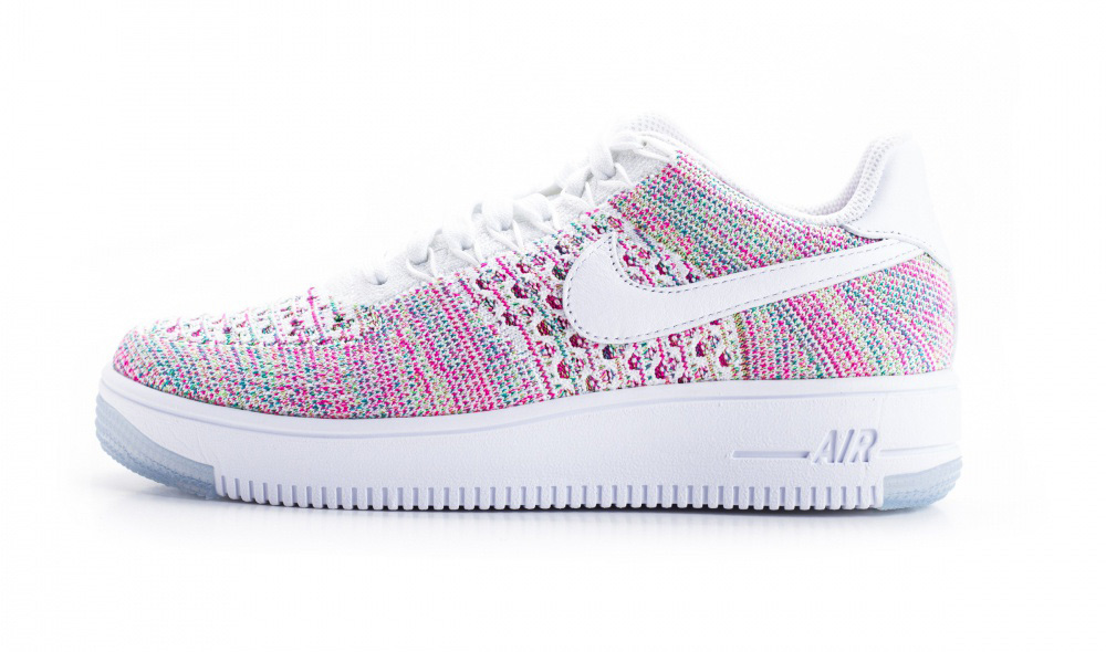 nike air force 1 rose et blanc