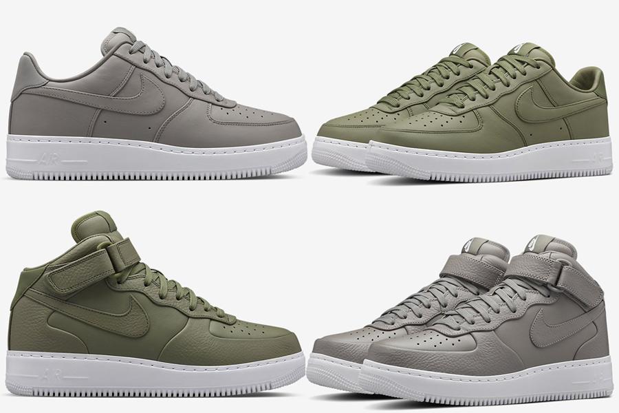 air force blanche et verte