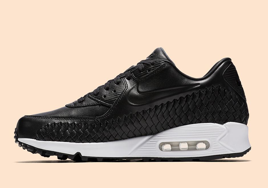 air max 90 black white