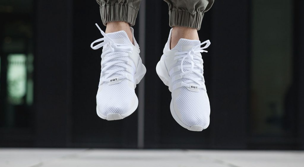 ADIDAS EQT SUPPORT ADV (TRIPLE WHITE)/ S SNEAKERS