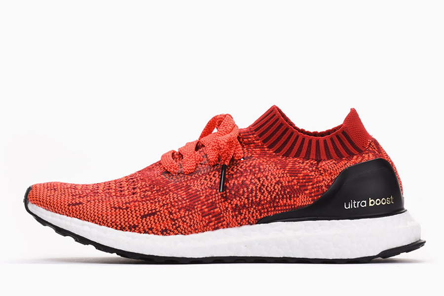 adidas performance ultra boost uncaged red solar red