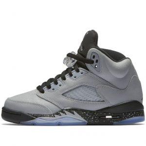 air-jordan-5-gs-wolf-grey-black