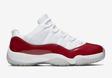Air Jordan 11 Low Varsity Red