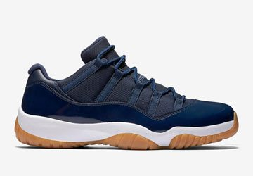 Air Jordan 11 Low Midnight Navy/Gum