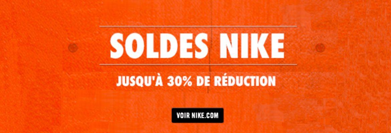 Soldes Nike été 2016