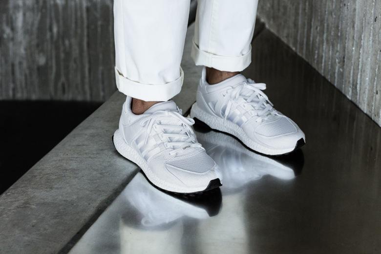 Adidas Eqt White Boost