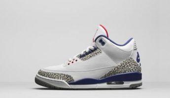 Air Jordan 3 Retro True Blue 2016