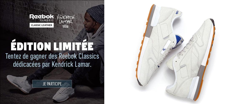 Concours Kendrick Lamar x Reebok Classic Leather - Le Site de la Sneaker d2da488c2