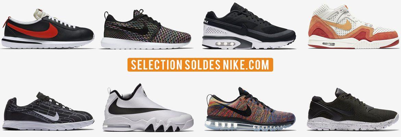 Sélection Soldes Nike.com 2016