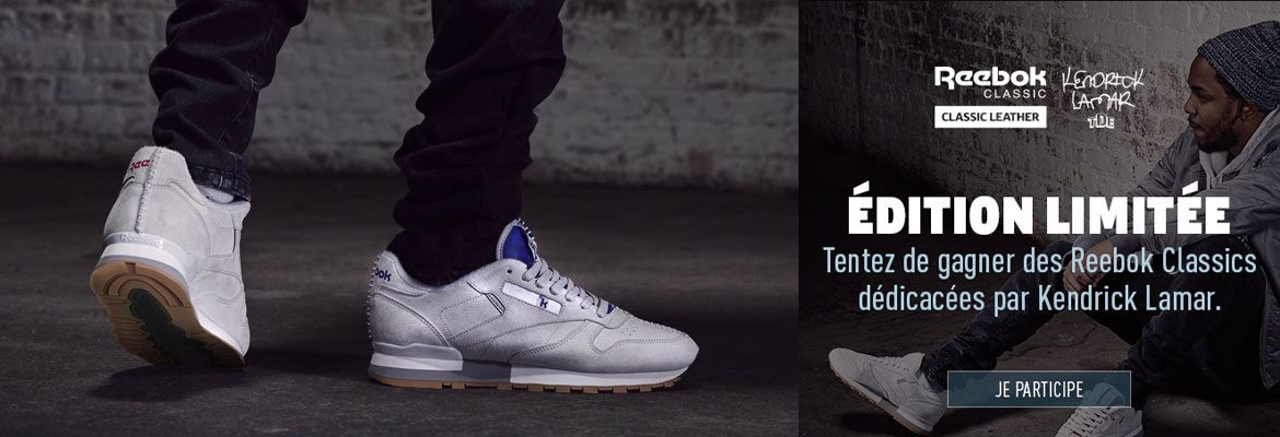 Contest Reebok Classic Leather Kendrick Lamar