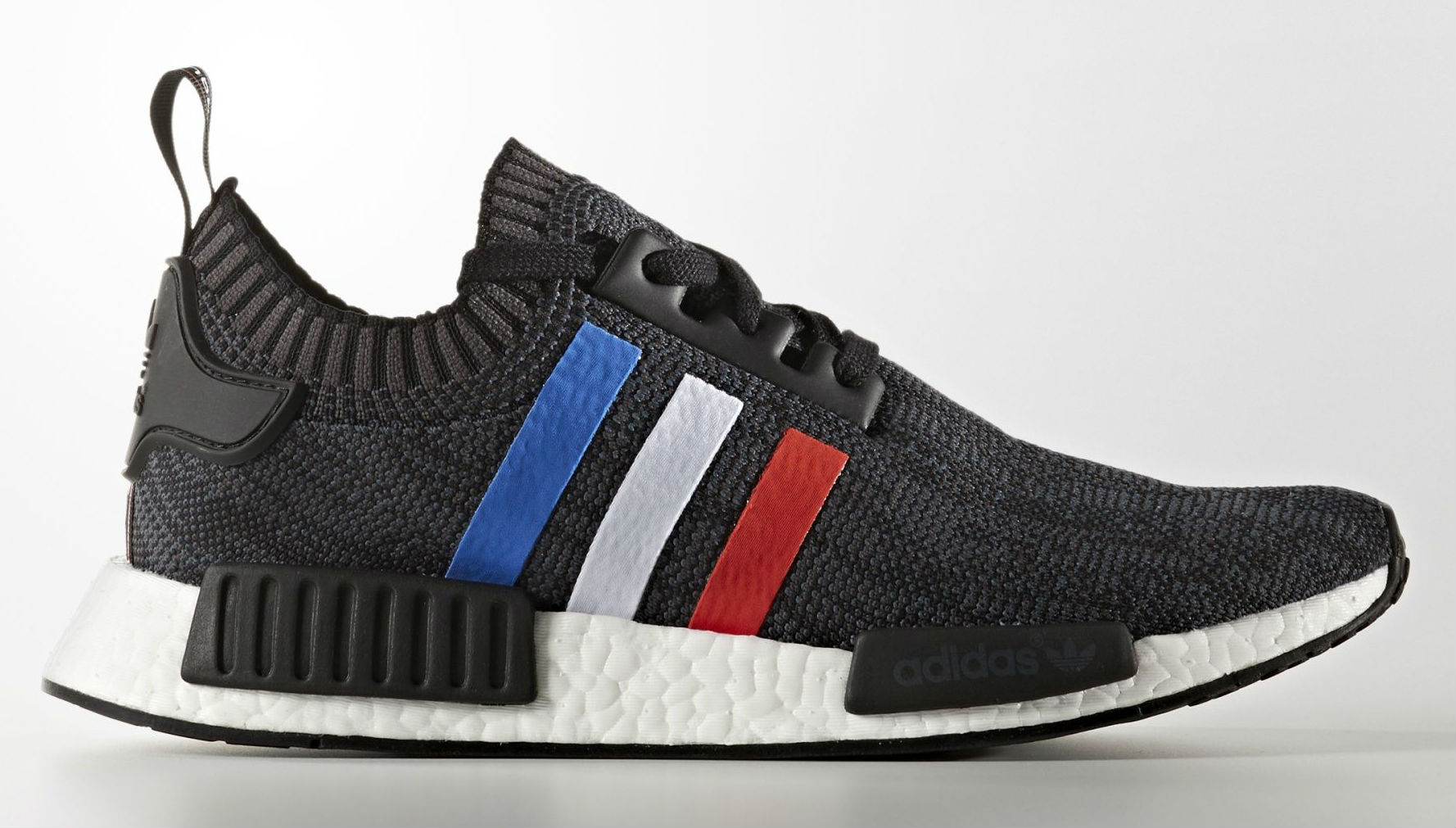 adidas nmd primeknit tricolor pack le site de la sneaker. Black Bedroom Furniture Sets. Home Design Ideas