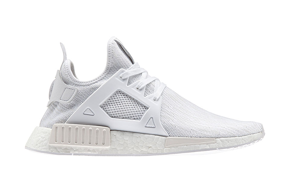 adidas nmd xr1 pk triple white date de sortie. Black Bedroom Furniture Sets. Home Design Ideas