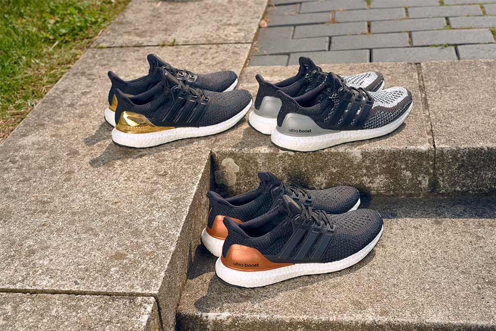 Adidas Ultra Boost Olympic Medal Pack Silver