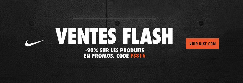 Vente Flash Nike