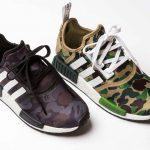 BAPE x adidas NMD R1 Pack