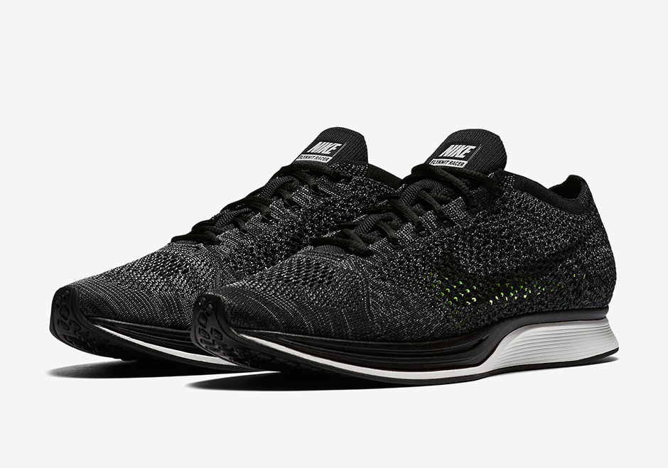 nike flyknit racer black date de sortie release date. Black Bedroom Furniture Sets. Home Design Ideas