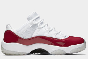 Restock Air Jordan 11 Low Cherry