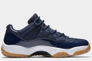 Restock Air Jordan 11 Low Navy