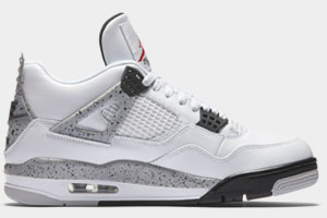 Restock Air Jordan 4 White Cement