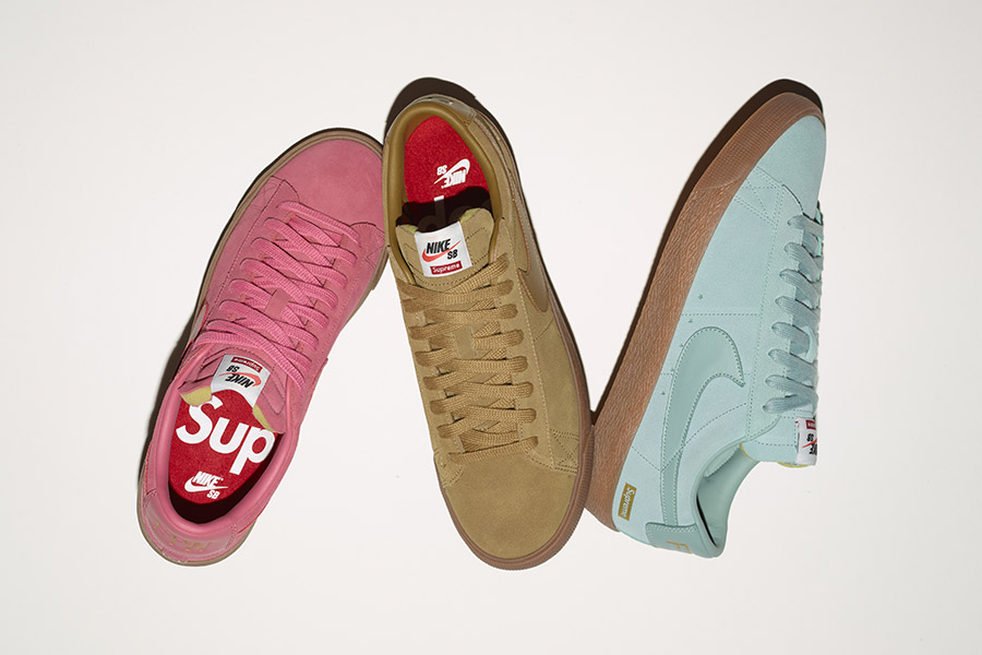 Supreme x Nike SB Blazer Low GT Pack