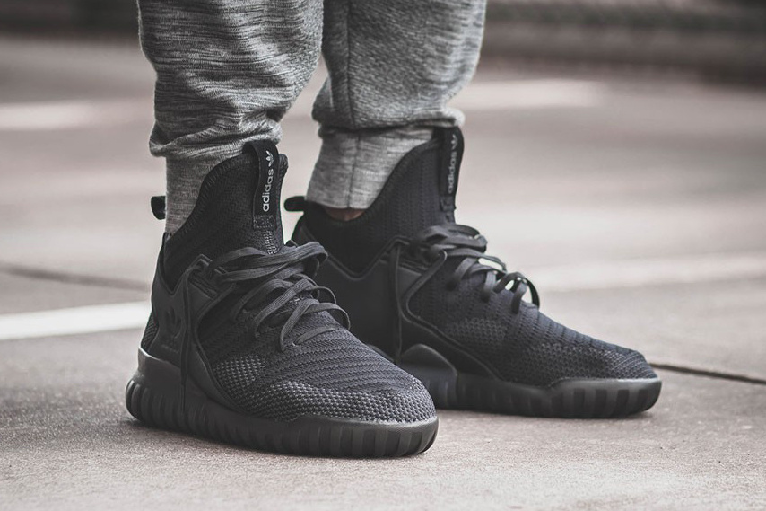 Adidas Tubular Black Primeknit