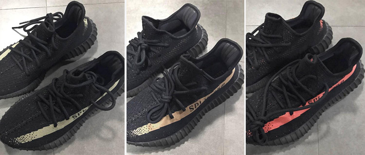 Yeezy Boost 350 v2 BLACK / WHITE BY 1604 Cheap Sale