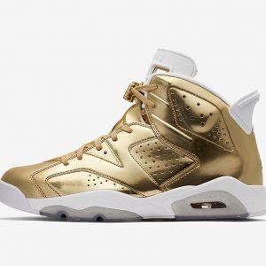 Air Jordan 6 Pinnacle Metallic Gold White