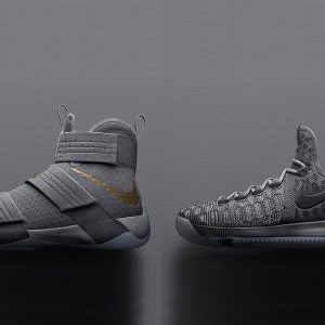 Nike Basketball Battle Grey Pack