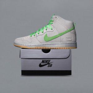 Nike SB Dunk High Premium Silver Box