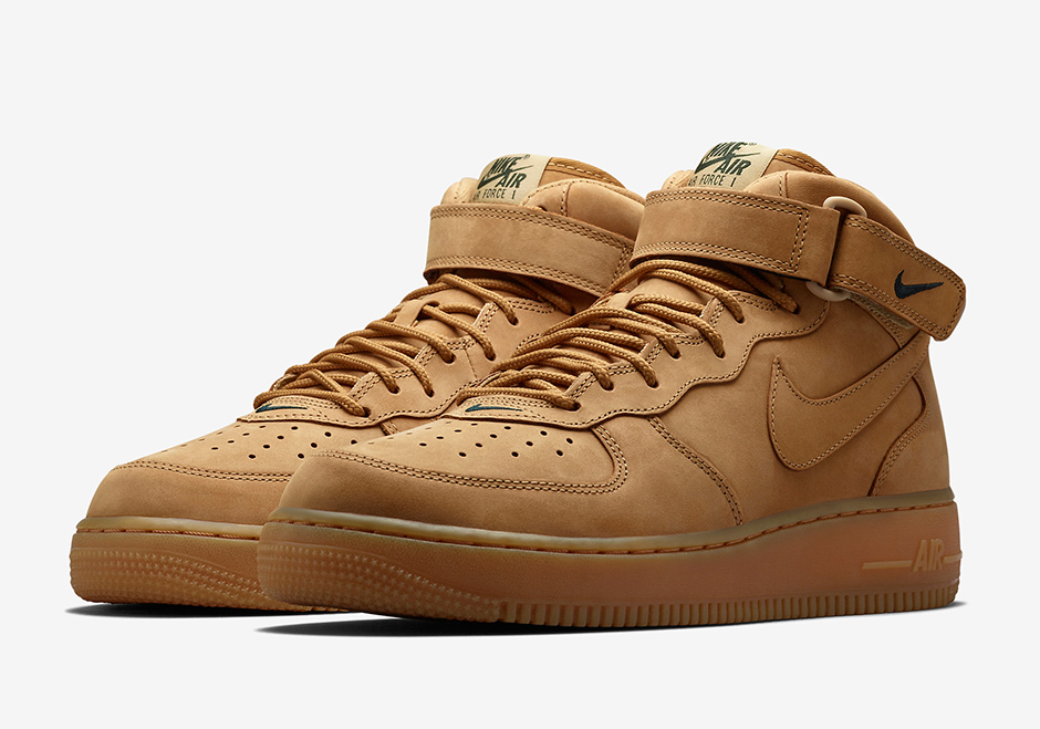 air force 1 mid flax