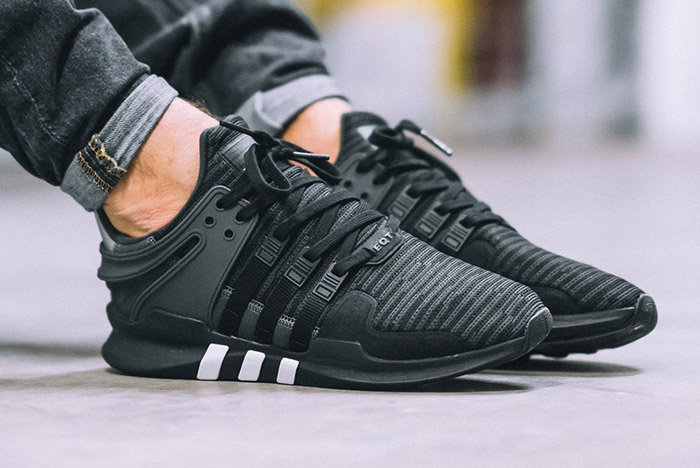 Adidas Eqt Support Primeknit Black