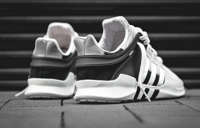 Adidas Eqt Adv Support Black White