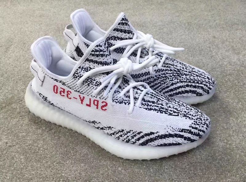 Yeezy Boost 350 White And Black