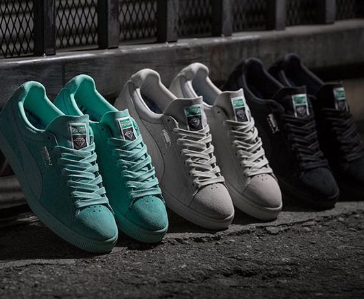 Diamond x Puma Classic Suede Collection