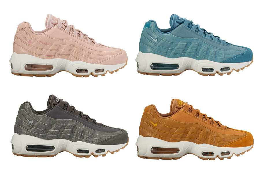 nike wmns air max 95 premium cracked leather collection le site de la sneaker. Black Bedroom Furniture Sets. Home Design Ideas