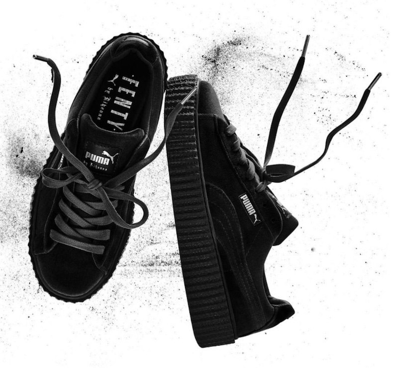 Puma Creepers Grey Velvet