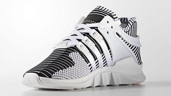 Adidas Eqt Support Adv Primeknit Black White