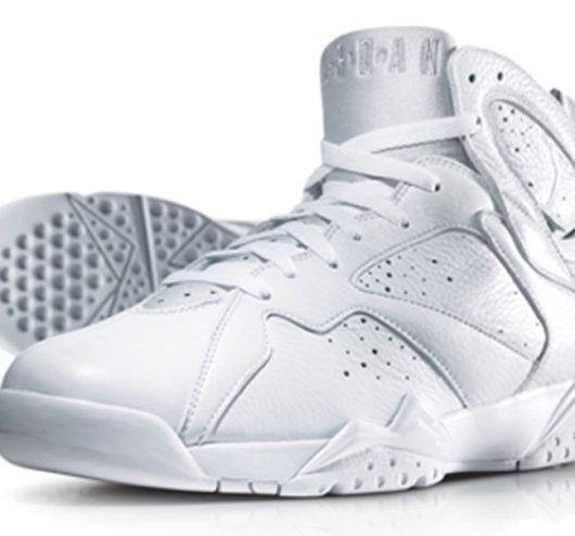 Air Jordan 7 White Metallic Silver