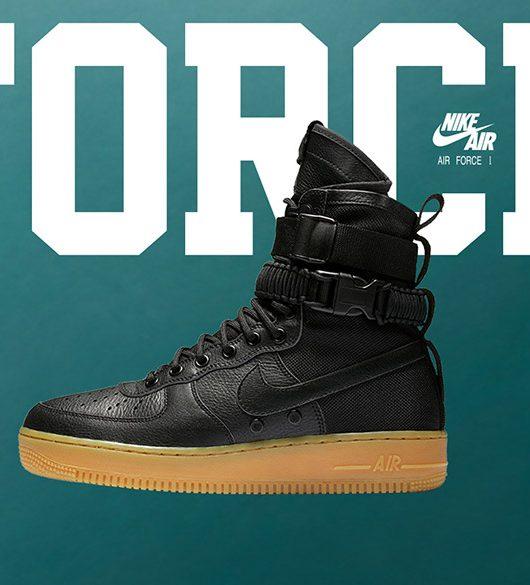 Nike Air Force 1 Special Field Black Gum