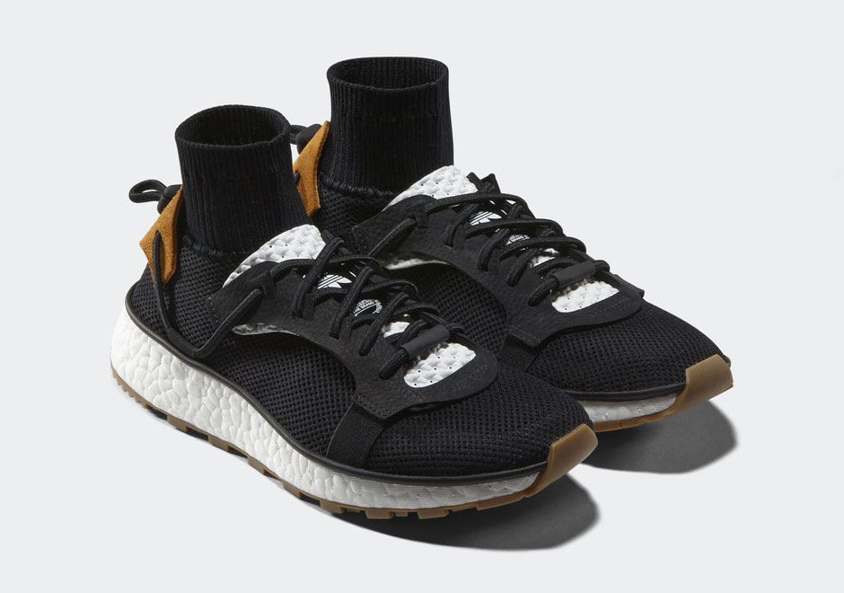 alexander wang adidas boost black gum