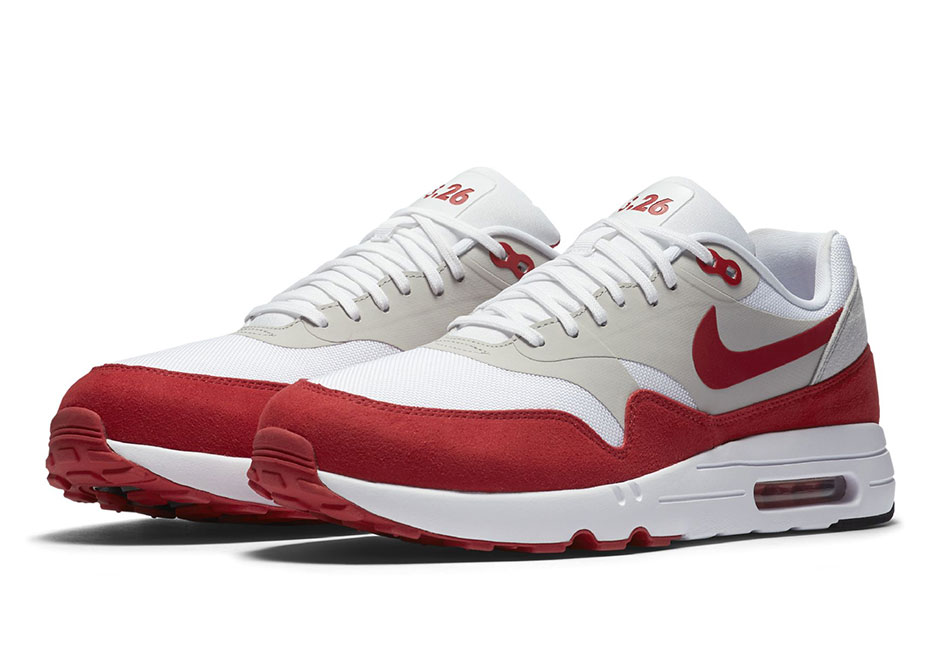 nike air max 1 ultra 2 0 le og red date de sortie. Black Bedroom Furniture Sets. Home Design Ideas