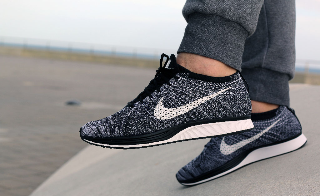 buy popular ce7e9 6353d Nike Flyknit Racer Oreo Cookies Cream