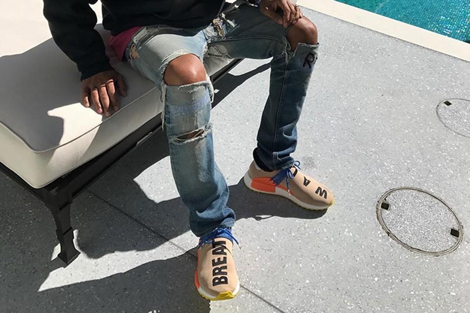 Preview: Pharrell x adidas NMD HU Tan Le Site de la Sneaker