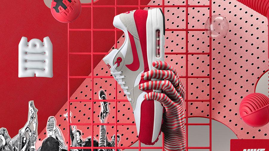 Nike Air Max 1 Ultra 2.0 LE OG Red