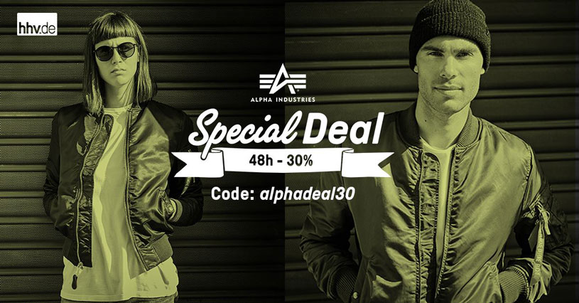 Code Promo HHV Alpha Industries
