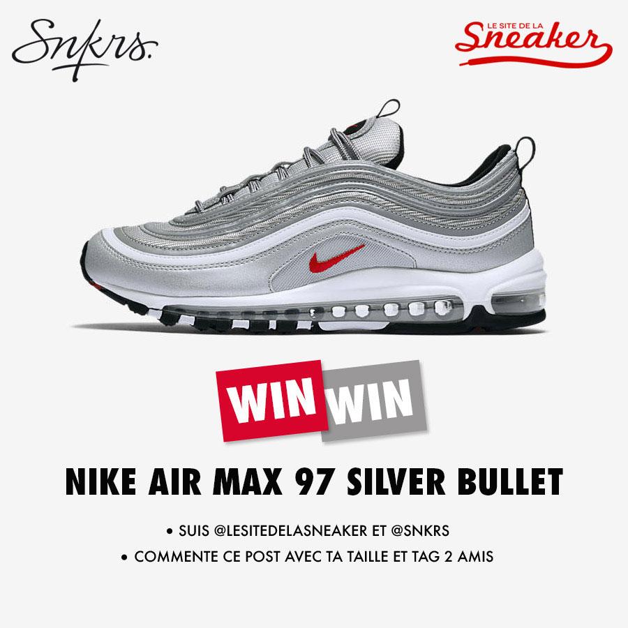 Contest Nike Air Max 97 Silver Bullet