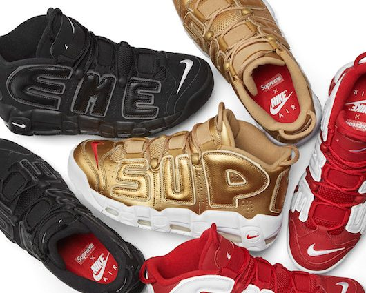 Supreme x Nike Air More Uptempo Pack