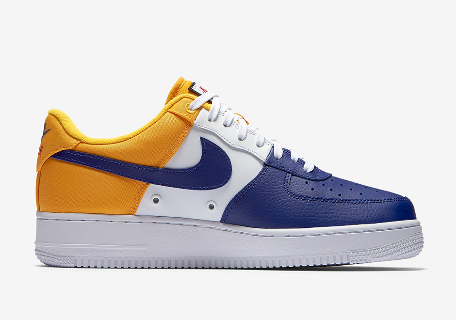 preview nike air force 1 low mini swoosh fc barcelona le site de la sneaker. Black Bedroom Furniture Sets. Home Design Ideas